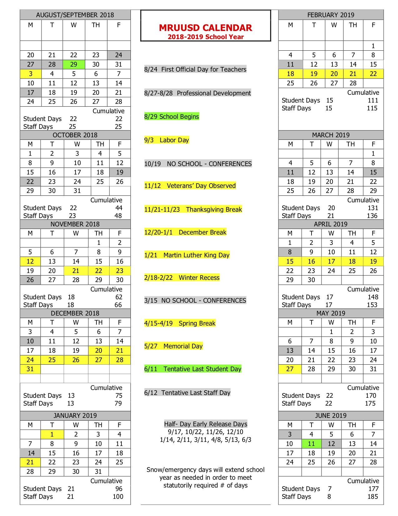 MRUUSD-1718-School-Year-Calendar