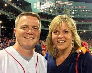 Shawn Bendig and his wife Ginger. Both are Mill River graduates.