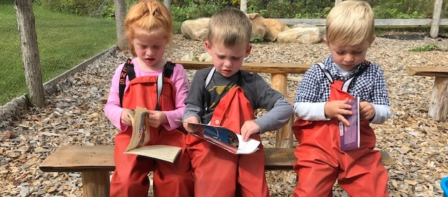 Learners in Outdoor Classroom